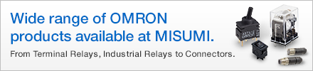 MISUMI wide range of OMRON products