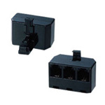 Modular Distribution Adapter Black