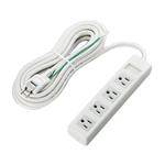 3-Pin-Compatible Outlet Power Splitter