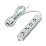 3-Pin-Compatible, Retainer Outlet Power Splitter with Magnet