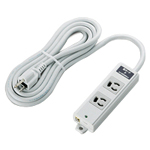 Dual-Structure Power Strip, Construction Use, with Lightning Surge Protection