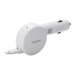 2.4 A Retractable DC Charger, Lightning