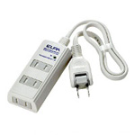 Power Strip, 3 Outlets, with Lightning Resistance Cord Included