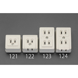 Square type socket-outlet EA940CG-123