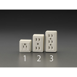 Square type socket-outlet EA940CH-3