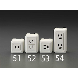 Square type socket-outlet EA940CJ-52