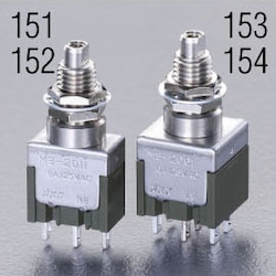 Small push button switch EA940DA-153