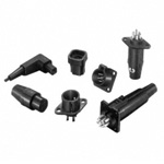 Plastic Circular Connectors, RP/RPC Series