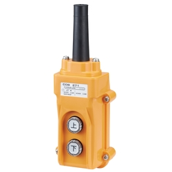 Push-Button Power Switch for Hoists, for Direct Three-Phase Electric Device Control, COB270/280 Series
