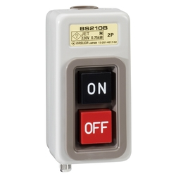 Operational Push Button Switch, Exposed Type Metal Case, BS Series