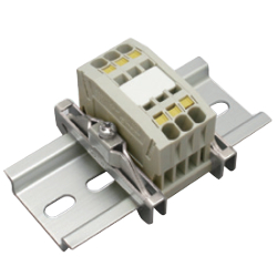 Clutch Lock Terminal Block Compact Series (Rail Type) TW