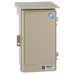Wall Box Electrical Enclosure With Rain Hood (Vertical Type)