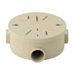 Exposed Round Box (1 to 3 Way Compatible Type)