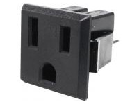 Domestic Blade Outlet - Outlet (Snap-In) / 2-Prong + Ground Model