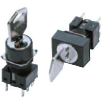 Optional Key Type Selector Switch A165K, Optional Part
