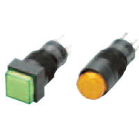 Push Button Switch (Illumination/Non-Illumination) (Round Body Shape φ12) A3C, Optional Part
