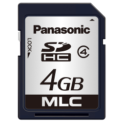 High Durability Industrial/Professional SD Card PC Series (4 to 16 GB)