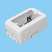 1-Gang Switch Enclosure 77mm x 123mm