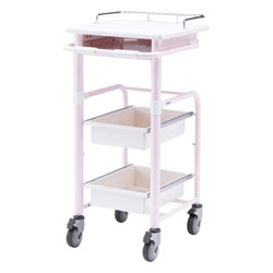 Electronic medical records cart