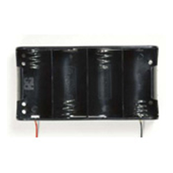 Battery Holder with Lead Wire / Pin / Snap Terminal