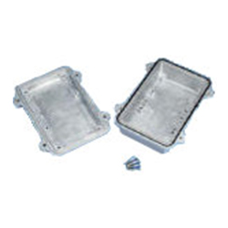 Aluminum Die Cast Box with Waterproof and Dustproof Shield, HQ Series