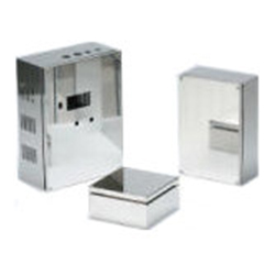 Waterproof/Dustproof Stainless Steel Box (Screw Closed), SSB Series