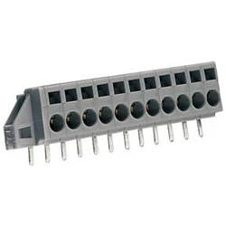 Feed-through Terminal Block With Fixing Flange For PCB, 231 Series / 5 & 5.08 mm Pitch
