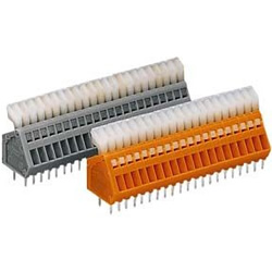 Terminal Block with Operating Lever for PCB, 233 Series, 0.5 mm2