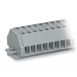 Compact Type Terminal Block, Screw-Mount / Snap-In, 260 Series