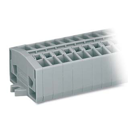 Compact Type Terminal Block, Screw-Mount / Snap-In DIN Rail, 264 Series
