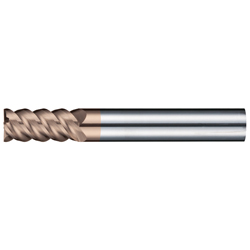 Carbide 4-Flute High-Hardness End Mill 55° E168TX