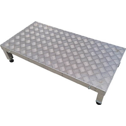 Connection Low Floor Work Bench (Checkered Plate Type)