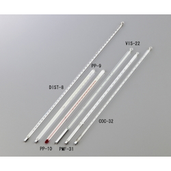 Glass Thermometer for Oil Test for Kinematic Viscosity 73.5 - 76.5℃ VIS-22