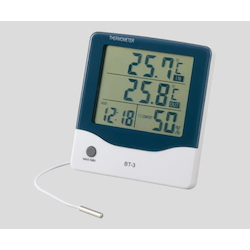 Large Screen Thermo-Hygrometer BT-3 with Alarm Clock
