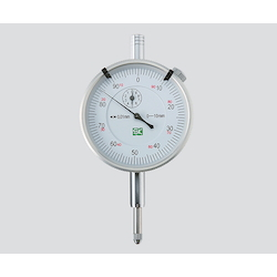 Standard Form Dial Gauge White