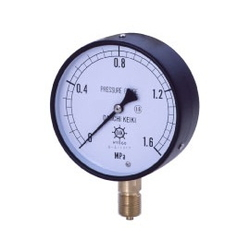 IPT General Pressure Gauge, Vibration-Proof Type, Rimless Type (A)