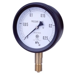MPP Plastic Closed Compound Gauge For Vapor, Rimless Type (A)