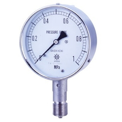 UST All Stainless Steel Compound Gauge, Vertical (A, B)