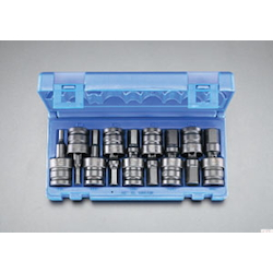 "(1/2"") Universal Hex Socket Set EA164DV-23"