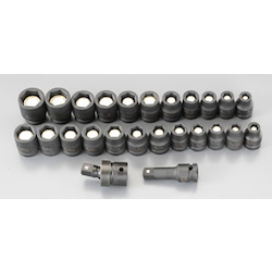 "(1/2"") Impact Socket Set (With Magnet) EA164DV-6"