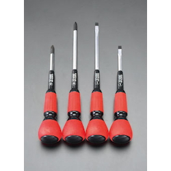 (+)(-) Power Grip Screwdriver Set EA557AB