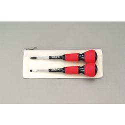 (+)(-) Power Grip Screwdriver Set EA557AB-10