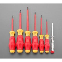 6 Pcs Insulated Screwdriver [with Electrometer Driver] EA560WK