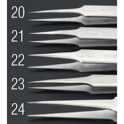 [Stainless Steel] Precision Tweezers EA595AK-24