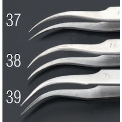 [Stainless Steel] Precision Tweezers EA595AK-38