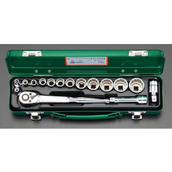 "(3/8"") Socket Wrench Set EA617BK-1"