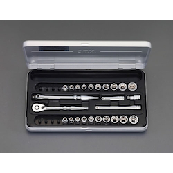 "1/4""sq Socket Wrench Set EA618NC-2"