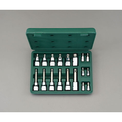 "(1/4"", 1/2"") [TORX] Bit Socket Set EA687DT"