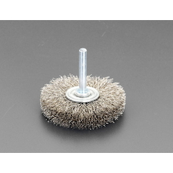 Wire Brush with Flat Shaft (6mm Shaft) EA819BS-10