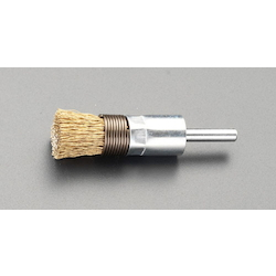 End Type Wire Brush with Shaft (6mm Shaft) EA819BT-7